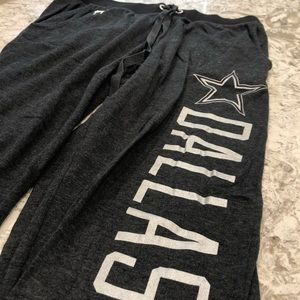 Victoria Secret PINK Dallas Cowboys Sweats